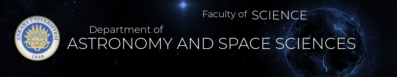 Astronomi ve Uzay Bilimleri Bölümü Logo